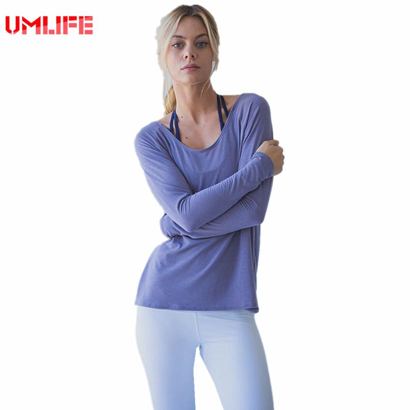 Yoga Shirt Loose Breathable Fitness Shirt Women Sport Top Long Sleeve Yoga Clothing Lightweight Sport T Shirt-SheSimplyShops