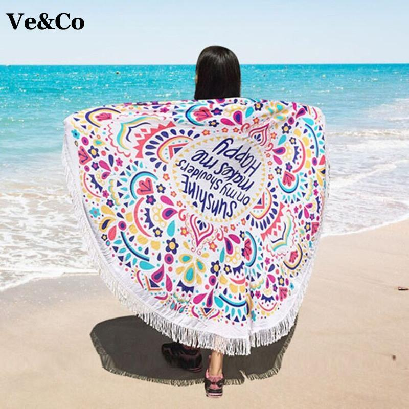 Summer Beach Cover Ups Floral Print Swimsuit Cover Ups Bathing Suit Cover Ups Cotton Women Cape Beach Swimwear-VESTS-SheSimplyShops
