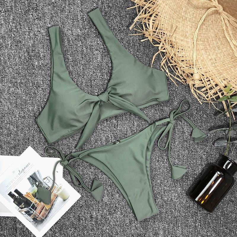 Women Swimwear Bandage Swimsuits Summer Bathing Suits-SWIMWEAR-SheSimplyShops