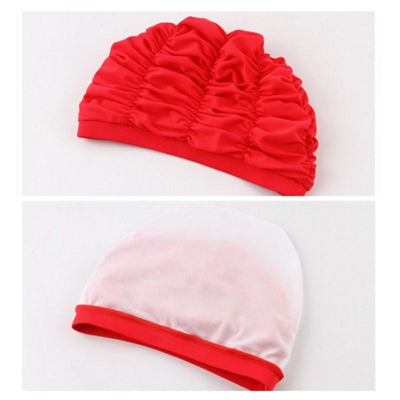 Women Sports Swimming Caps Stretch Elastic Swim Pool Hat Swimming Cap High Quality Nylon Bathing Hats Caps For Men Women Adults-ACTIVEWEAR-SheSimplyShops