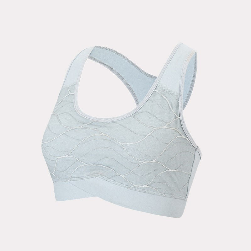 Yoga Sport Top Female Sports Bra Padded Women Fitness Brassiere Sports Underwear Workout Jogging Running Tank Top Sport Clothing