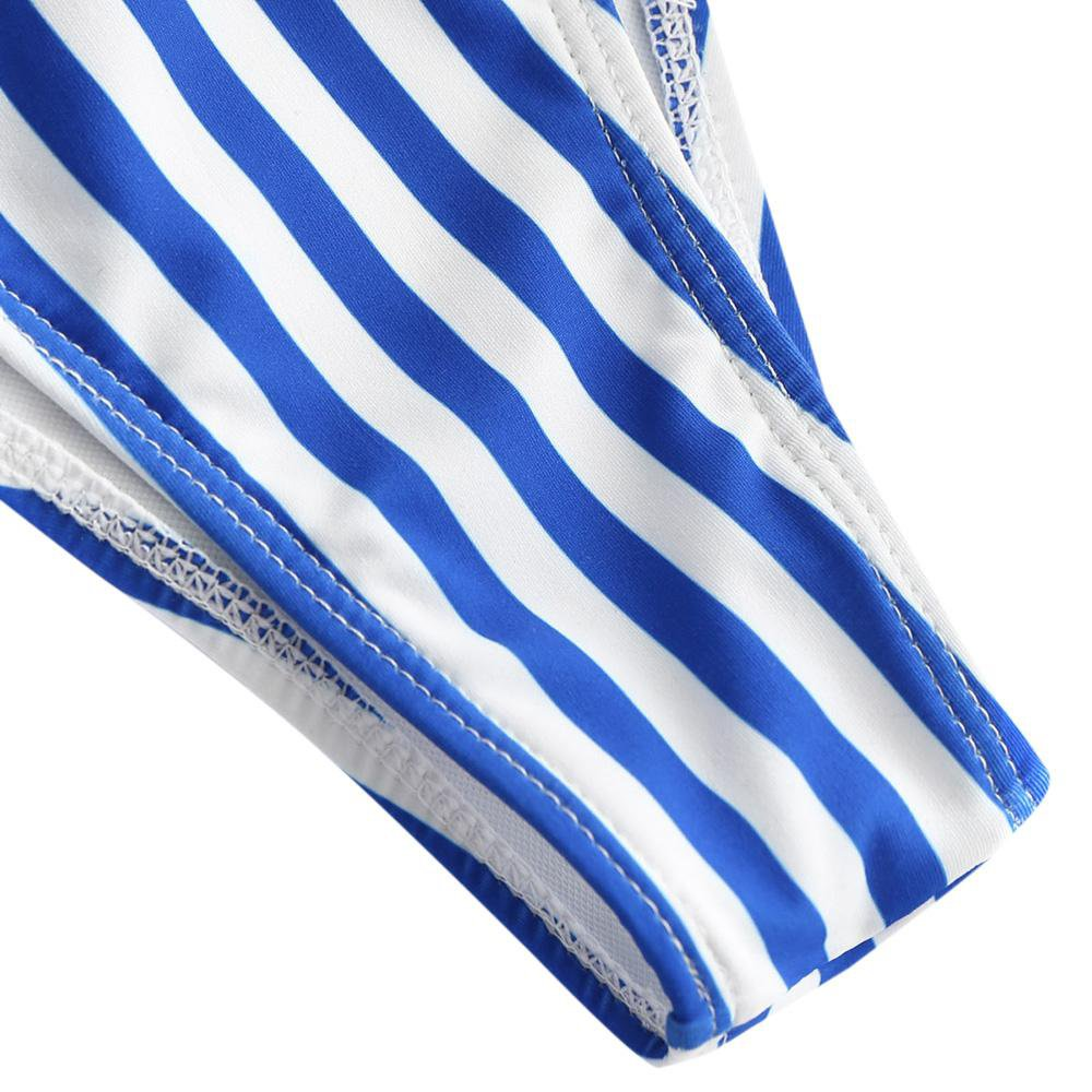 High Cut Striped Bikini Set Swimwear Women Swimsuit Strap Padded Bathing Suit-SWIMWEAR-SheSimplyShops