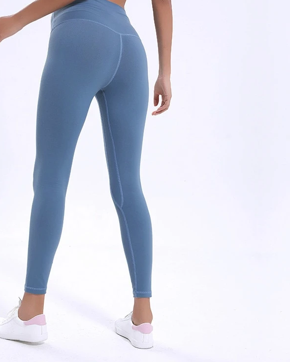 Colorvalue Anti sweat Mention Hip Sport Gym Leggings Women High Waisted Yoga Fitness Pants Seamless Dance Workout Leggings XS XL