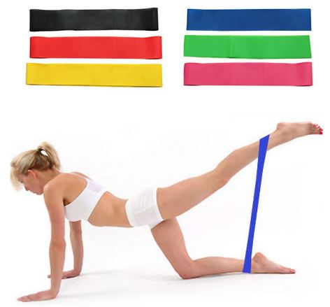 Resistance Bands For Yoga Exercise Elastic Rubber Band Fitness Exercise Loop Band Assisted Pull Up Crossfit Strength Weight Training Band Workout<br>