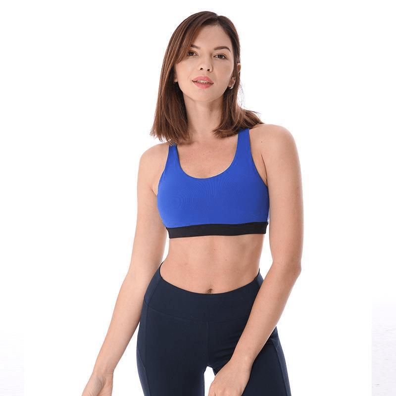 Sexy Mesh Bra Women's Removable Padded Sports Bras Cross Back Medium Support Workout Running Yoga Bra-ACTIVEWEAR-SheSimplyShops