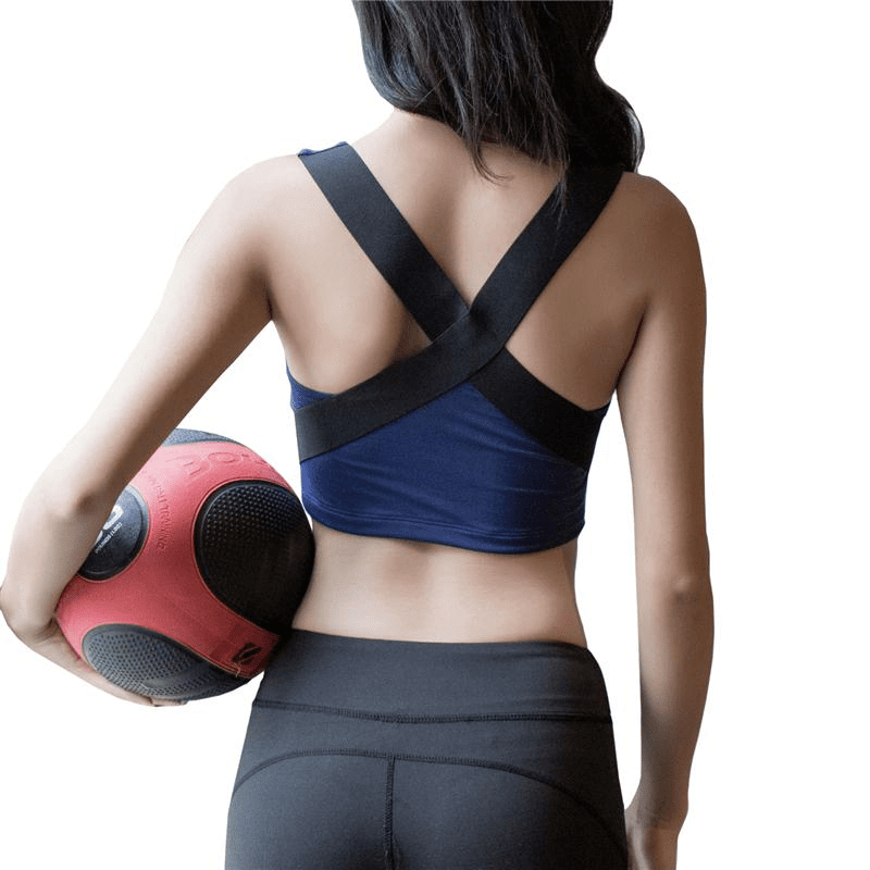 Sports Bra Push Up Vest Fitness Shockproof Professional Bust Running Underwear Yoga Crop Tops Quick-drying Seamless Bra-ACTIVEWEAR-SheSimplyShops