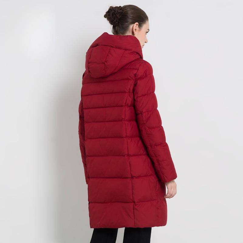 ICEbear Winter Women's Coat Female Jacket High Quality Casual Jackets Hooded Parkas Clothing GWD18077I