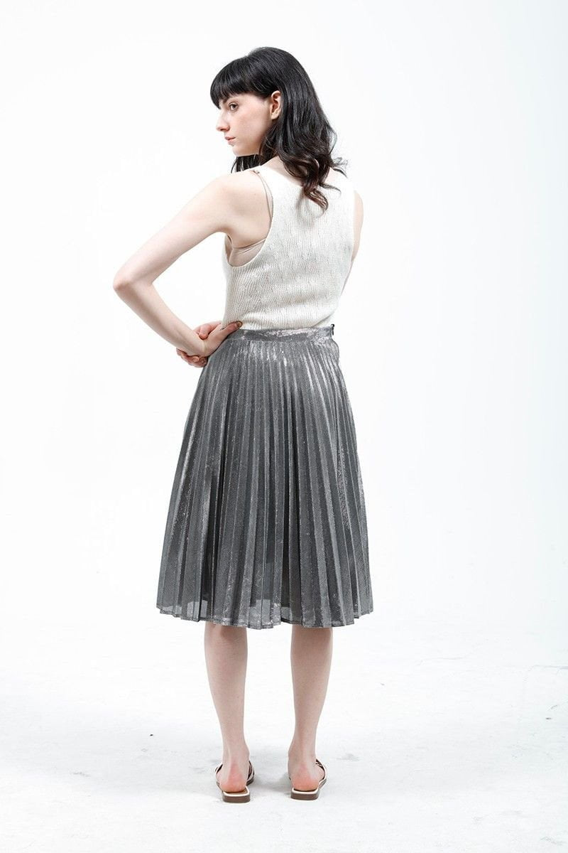 Stylish Swing pleated skirt-Dress-SheSimplyShops