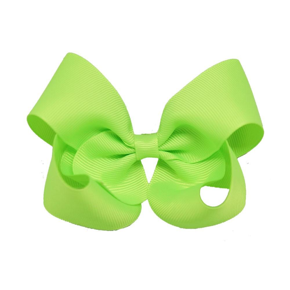 "30 Pcs lot 3.5"" Handmade Baby Solid Hair Bows With Clips Girls Solid Grosgrain Ribbon Hair Bow Kids Boutuique Hair Accessories-ACCESSORIES-SheSimplyShops"