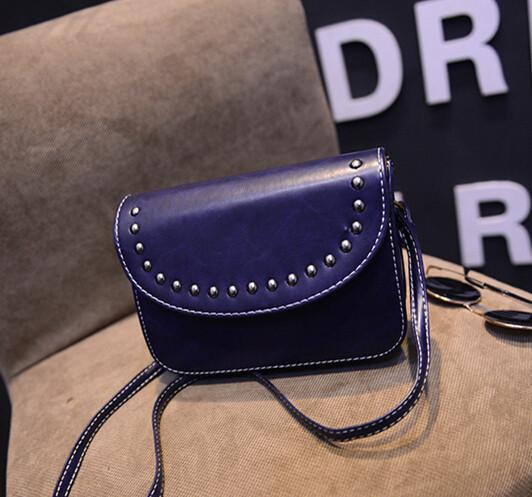vintage rivet mini leather handbags hotsale ladies party purse wedding clutches women small crossbody shoulder messenger bags-BAGS-SheSimplyShops