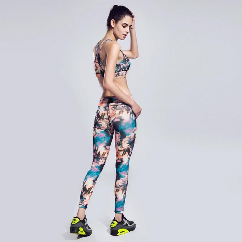 Women Yoga Leggings Elastic Comfortable Surper stretch Sport slimming Legging Workout pants Fitness Trousers leggins-ACTIVEWEAR-SheSimplyShops