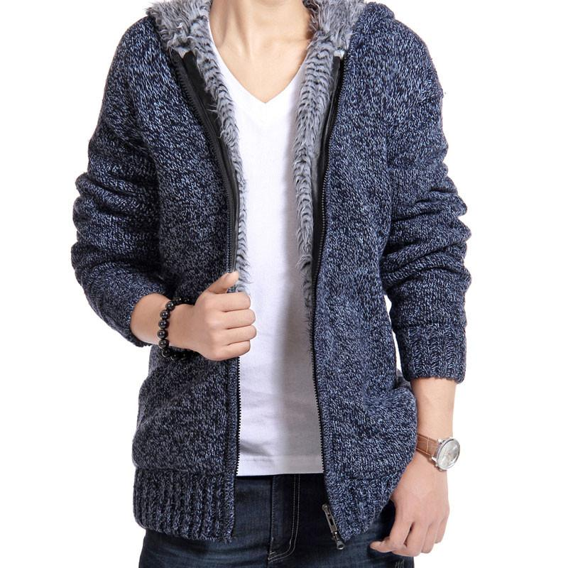Casual Fur Lining Hoodies Jacket-Coats & Jackets-SheSimplyShops