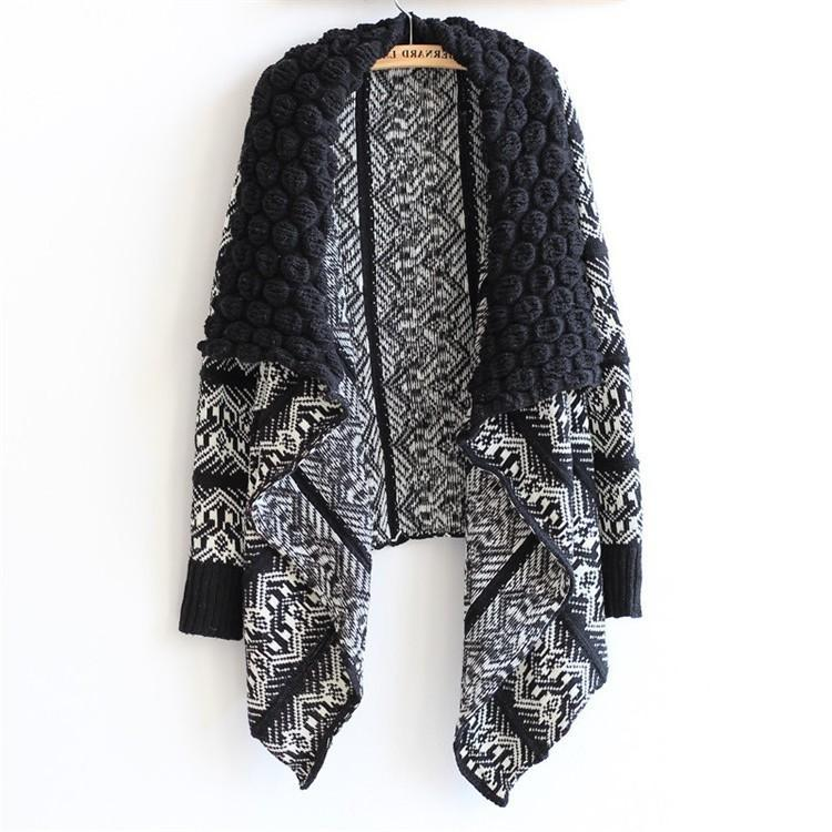 Winter Cardigan Fashion Women Sweater Women Big Casual Knitting Sweater Women outwear colors sweater-SWEATERS + CARDIGANS-SheSimplyShops