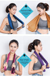 Summer Cooling Sports Towel Microfiber Fabric Quick-Dry Ice Towels Running Fitness Yoga Climbing Exercise Outdoor Towel-ACTIVEWEAR-SheSimplyShops