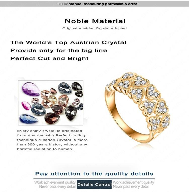 LZESHINE Wedding Dress Rings Gold/Silver Plated AAA Zircon Fashion Jewelry Rings Aneis Delicado-Dress-SheSimplyShops