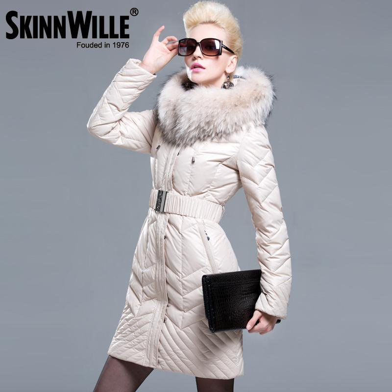 Fashion thickening large fur collar down coat women winter new arrival woman coats and jackets-Coats & Jackets-SheSimplyShops