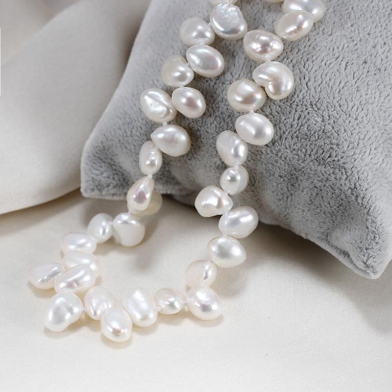 Natural Baroque Pearl Necklace Style-NECKLACES-SheSimplyShops