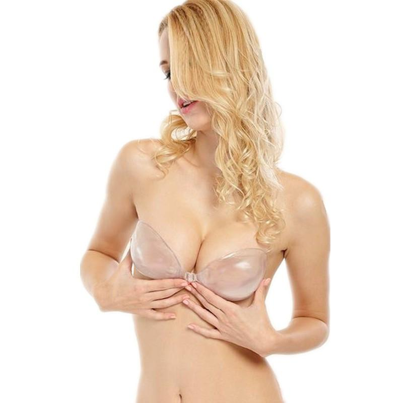 Transparent Strapless Silicone Push Up Bras Invisible Backless Breast Lift Self Adhesive Bras Sutian Silicon Bra-BRAS-SheSimplyShops