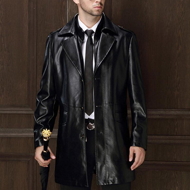 new arrival men 39 s genuine leather jacket men coat brand. Black Bedroom Furniture Sets. Home Design Ideas