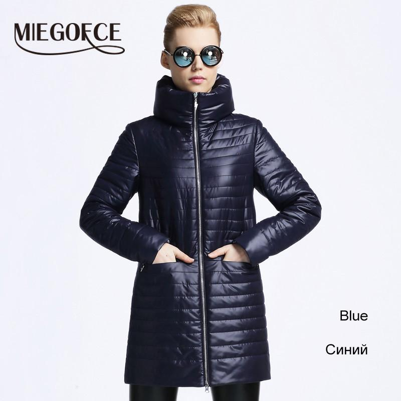 Women Thin Cotton-padded jacket coat MIEGOFCE spring autumn High Quality Quilting Parka leisure new European Style outwear-Coats & Jackets-SheSimplyShops