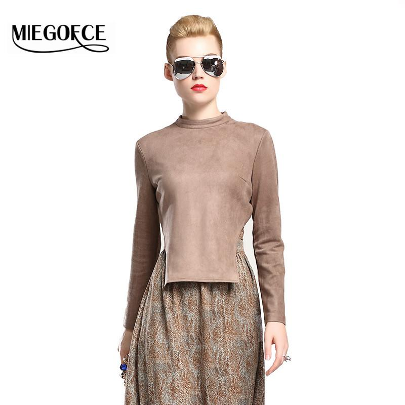 New Autumn Collection Women T-Shirt with Long Sleeves .-SHIRTS-SheSimplyShops