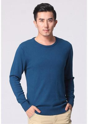 Men's round neck Cashmere Sweater thin sweater new winter business Men Slim sweater Men Sweater hedging color-SWEATERS + CARDIGANS-SheSimplyShops