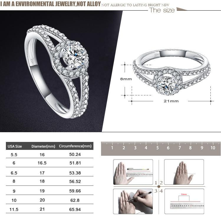 LZESHINE New Arrival Women Pure 925 Real Sterling Silver Jewelry Alluring Brilliant Wedding Ring Aneis Delicado SRI0008-B-JEWELRY-SheSimplyShops