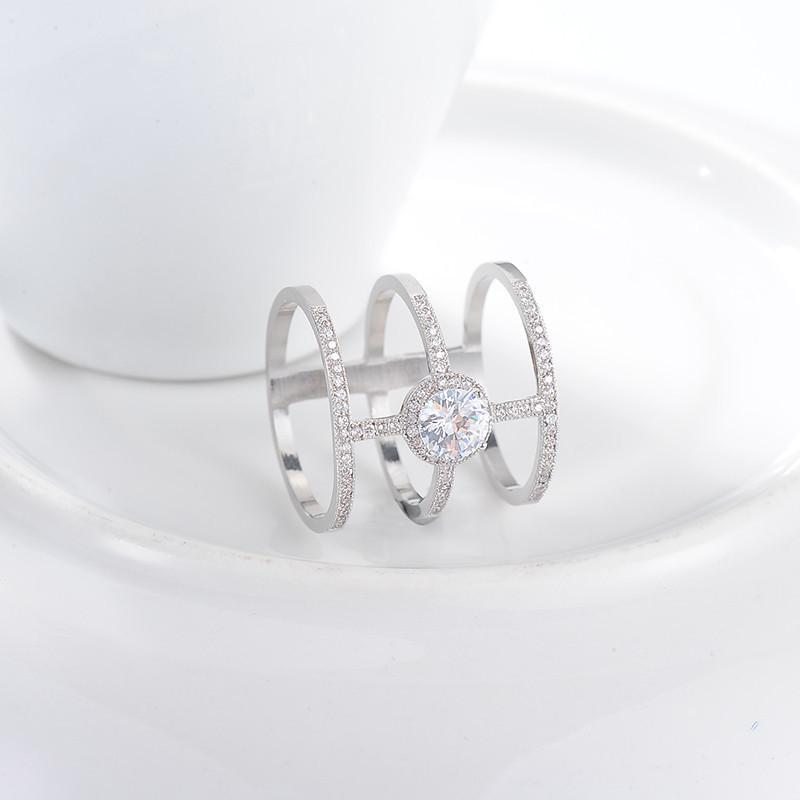 LZESHINE Newest Design AAA Round Created Diamond Micro Inlayed Tri-band Unique Cross Rings For Women Party Jewelry CRI0334-B-JEWELRY-SheSimplyShops