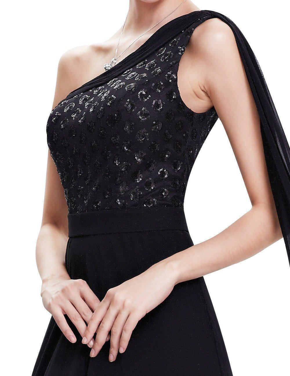 Formal Evening Dress Ever Pretty HE08614 Black Women Elegant Vestido De Festa Longo Long Dress Evening Dresses-Dress-SheSimplyShops