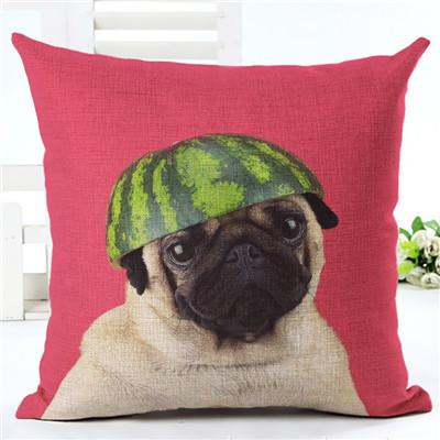 Animal cushion cover Dog for children Decorative Cushion Covers for So