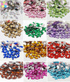 7*15mm Flat Back Sew On Rhinestone crystal Two Holes Beads Stones 50pcs lot-BAGS-SheSimplyShops