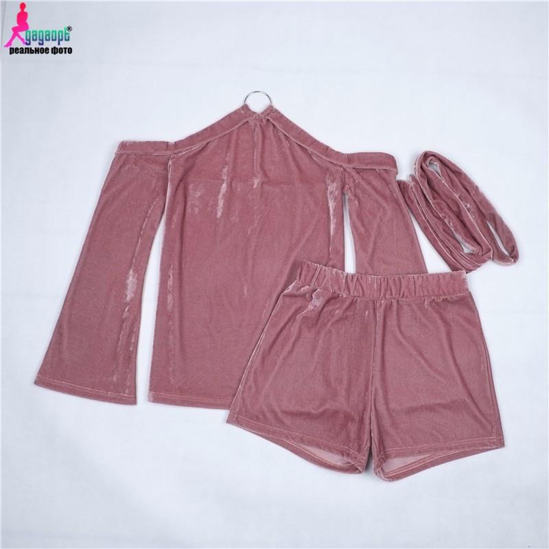 Women Suit Set Round-neck Camisole Loose 2 piece Tops and Shorts Set Women Summer Suits Sexy Sling Tops Elegant-Dress-SheSimplyShops