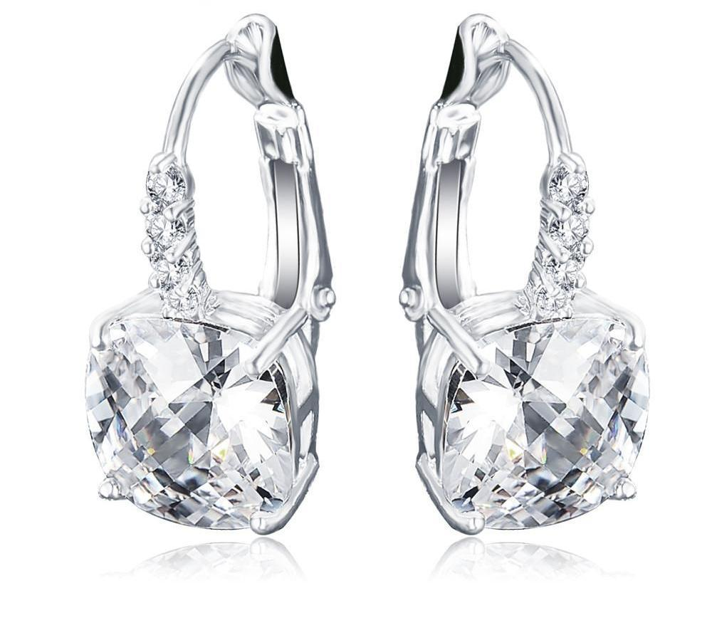 LZESHINE Newest Clip Earrings Rhodium Plated with AAA Cubic Zirconia Square Shape Earrings for Unisex CER0207-B-EARRINGS-SheSimplyShops