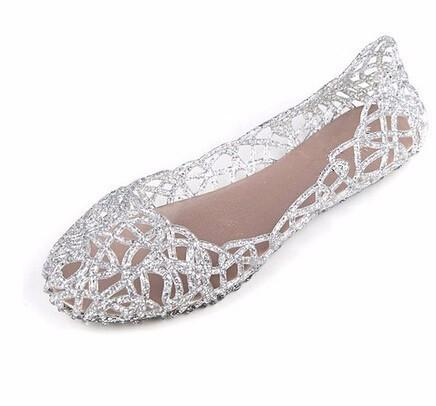 Summer Crystal Cut out Jelly sandals-SLIPS-SheSimplyShops