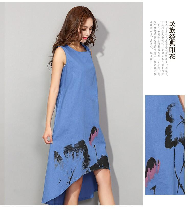 summer dress vestido casual dress dresses for women vintage dress ladies sundress plus size women clothing vestiti donna-Dress-SheSimplyShops