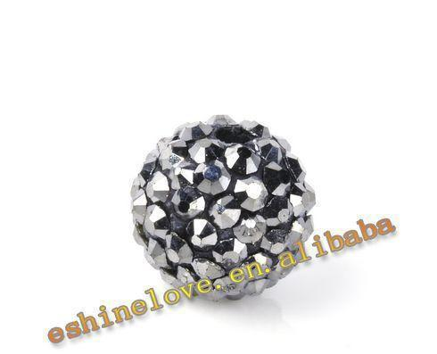 Fashion Accessories Disco Balls Shamballa Bracelet Beads 10mm AB Clay Crystal Ball Shamballa Balls/Beads-BRACELETS-SheSimplyShops