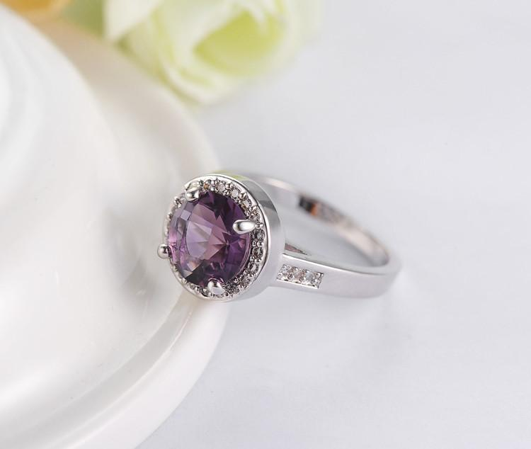 LZESHINE Purple Color Stone Rings Silver Plated Micro Inlay Cubic Zirconia Top Quality Jewelry Female Rings Cheap Price RI0061-B-JEWELRY-SheSimplyShops