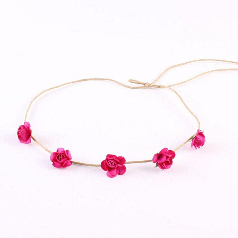 Mini Rose Flowers Headbands-ACCESSORIES-SheSimplyShops