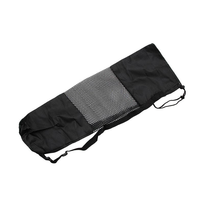Adjustable Strap Nylon Yoga Pilates Mat Carrier Bag Mesh Center Case-BAGS-SheSimplyShops