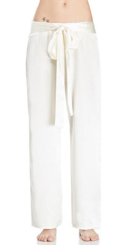 HDY Haoduoyi Solid White Fashion Slim Pants Women High Waist Loose Female Wide Leg Trousers Loose Brief Style Casual Pants-PANTS-SheSimplyShops