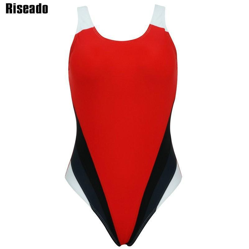 Swimwear Women One Piece Swimsuit Sexy Sports Swimsuit Backless Swim Bathing Suits-ACTIVEWEAR-SheSimplyShops
