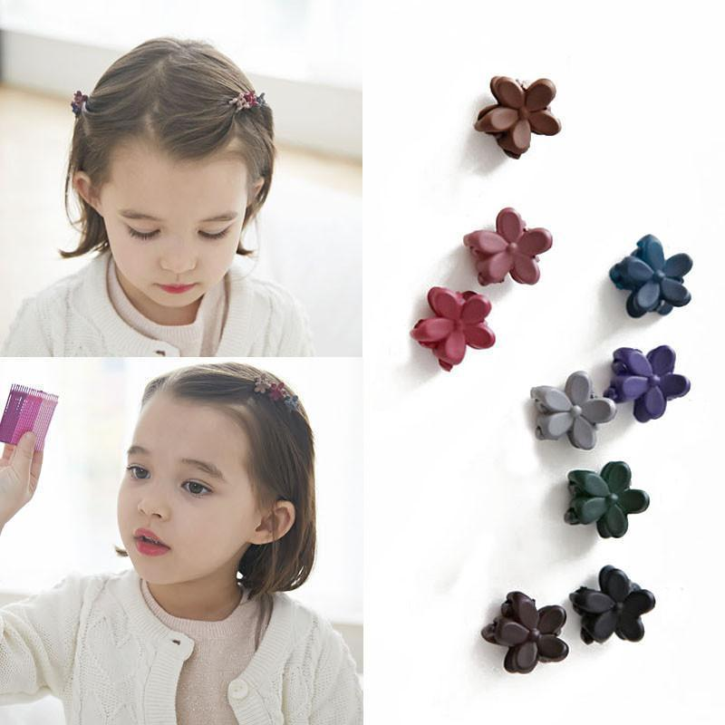 Small Flower Baby Kids Hair Clips New Hair Claws Lovely For Child Cute Hair Accessories Fashion For Student-ACCESSORIES-SheSimplyShops