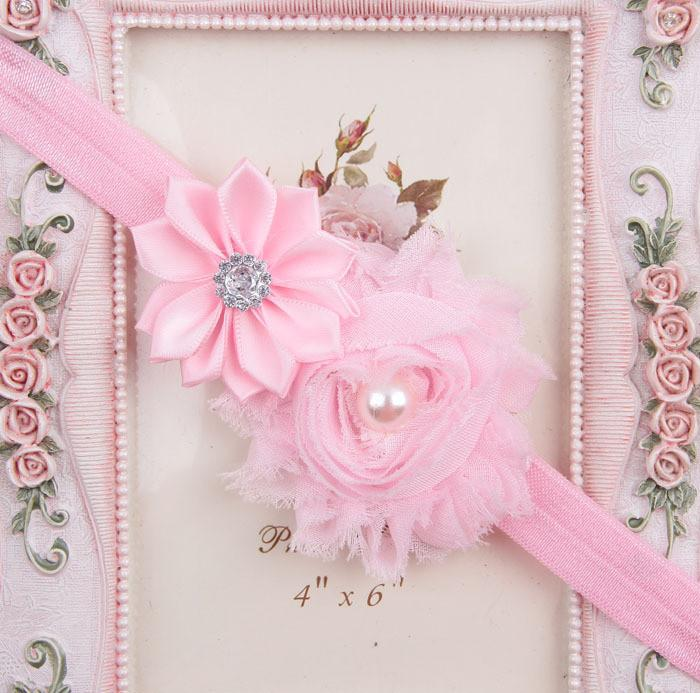 new baby beautiful flower pearl headband new baby beautiful flower pearl headband