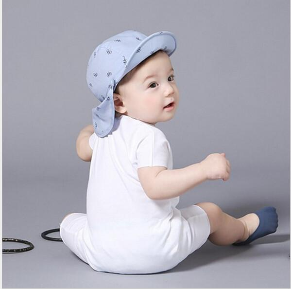 Infant baby rompers cotton short-sleeved leotard romper-ROMPERS & JUMPSUITS-SheSimplyShops