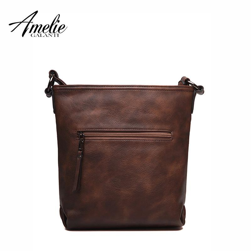 Women Messenger shoulder Bag Vintage High Quality crossbody bags Casual Solid Zipper 4 Colors fashion-BAGS-SheSimplyShops