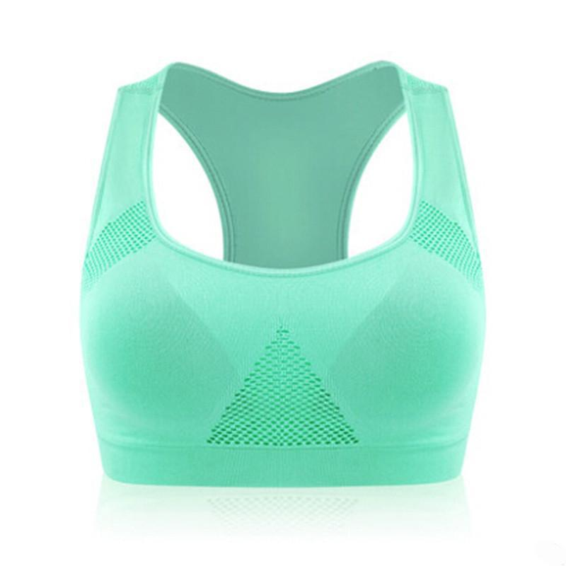 High Quality Absorb Sweat Professional Sports Bra , Gym Fitness Seamless Sports Bra Stretch , Women Padded Top Athletic Vest-ACTIVEWEAR-SheSimplyShops
