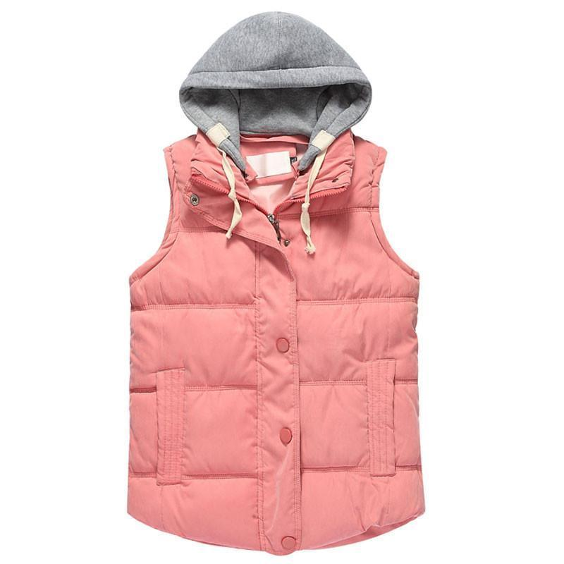 Removable Hooded Vests-Coats & Jackets-SheSimplyShops