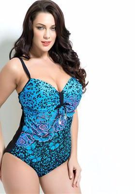 bathing suits for big busts summer style womens plus size one swimsuit swimwear 10352