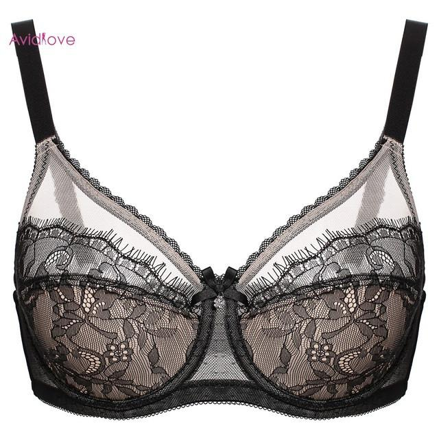 Sexy Push Up Bra Plus Size Cup Women Bra Brassiere Black Adjustment Seamless Lingerie Bras For Women-BRAS-SheSimplyShops
