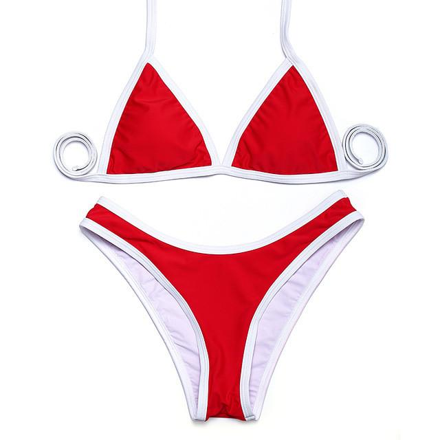 Swimwear bikini sexy Bikini Halter Summer High Cut Women Swimwear Bikini Set Swimsuit more color-SWIMWEAR-SheSimplyShops